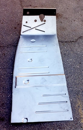 Willys America Floor Pan Left For Willys Overland Jeepster