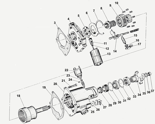 R10 overdrive willys america overdrive parts for willys overland vehicles borg warner overdrive wiring diagram at fashall.co