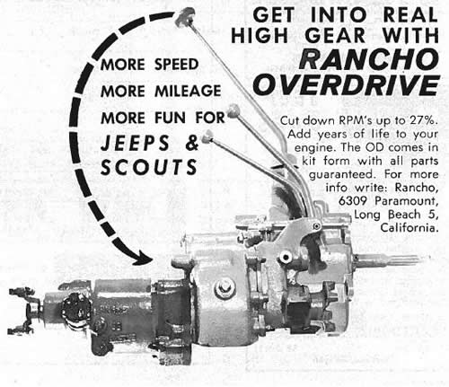 Willys America Overdrive Parts for Willys Overland Vehicles on