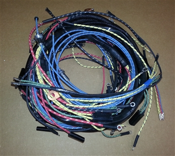 jeepster wiring harness willys america jeepster wiring harness for willys overland ...
